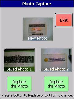 IDVisor Pro Photo Retake Screen