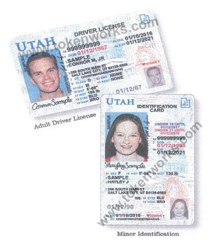 New Utah Driver's Licenses contain several new security measures for license holders.