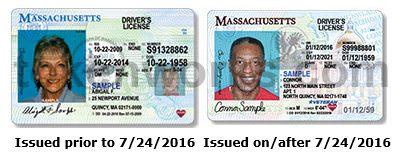 Old Massachusetts license vs new Massachusetts license design